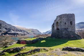 A High Dynamic Range (HDR) Photograph Of Dolbadarn Castle In Snowdonia, Showing Detail In Both The Sky And The Shadow.